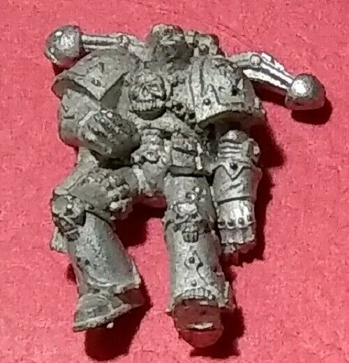 UNRELEASED DEAD CHAOS SPACE MARINE 2 Warhammer 40K Horus Heresy GamesDay Diorama
