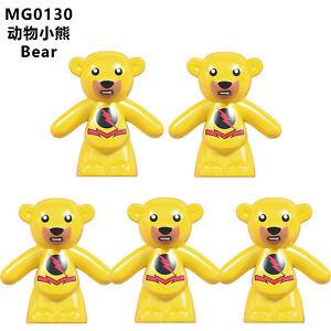 1610D Animals Movie Gift 10pcs Compatible Educational Kids Toy #1610D #JLB