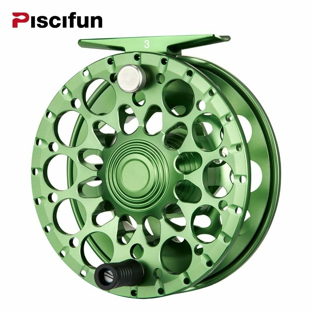 Piscifun Crest Fly Reel 5/6 7/8 9/10 Fully Sealed Drag CNC Ma ned Aluminium