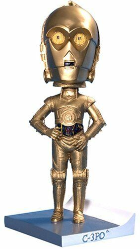 "STAR WARS ~ C-3PO 8/"" Bobble Buddies Bobble Head Cards Inc. #NEW"