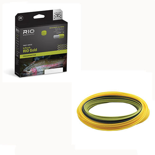 Rio InTouch goud Fly Line, nieuwe --w Gratis Shipping in US