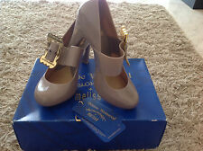 VIVIENNE WESTWOOD Anglomania Melissa Mary Janes Heel Shoes Buckle 37  UK 4 BNWT