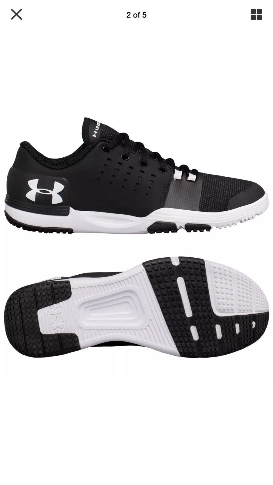 Under Armour Homme UA Limitless TR 3.0 Training Chaussures Noir10 used once