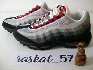 finest selection 232b0 dd2df Détails sur Nike Air Max 95 DS (2007) Chili Red sz 8.5US 7.5UK 42EU 26.5CM  609048062 vintage