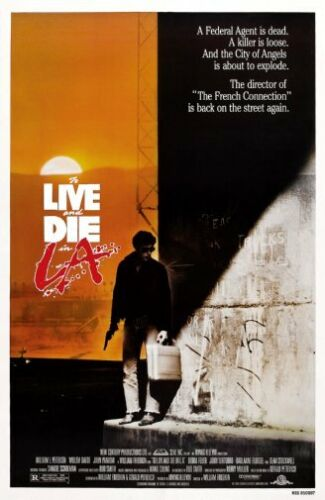28cm x43cm To Live And Die In La Movie Poster 11x17 Mini Poster