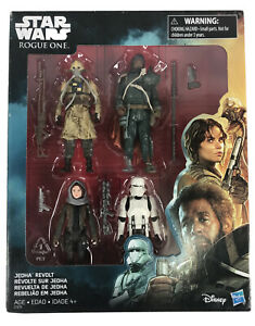Rogue-One-A-Star-Wars-Story-Action-Figure-4-Pack-Set-Jedha-Revolt-3-5-034