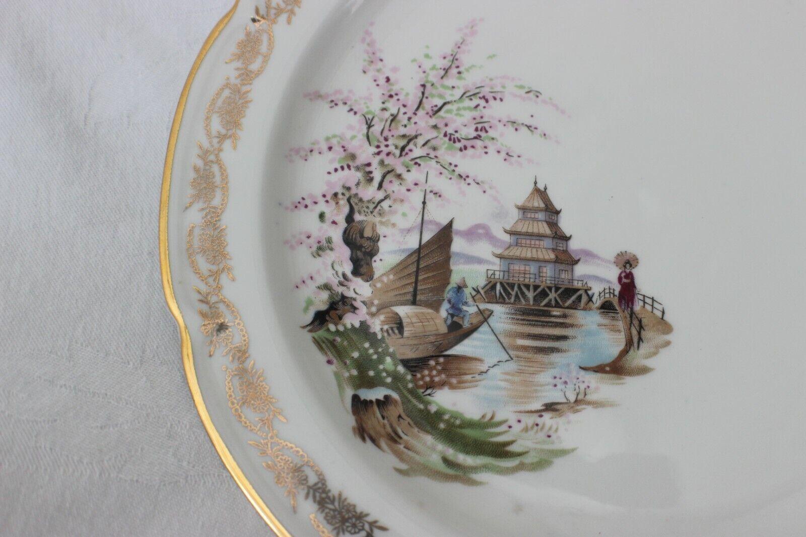 Medaille D'or les ateliers d'art d'Annet  2 x dejeuner place avec tasse Boat