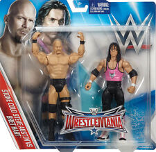 WWE WWF Mattel Wrestlemania 32 Battle Pack Piedra Fría Steve Austin & Bret Hart