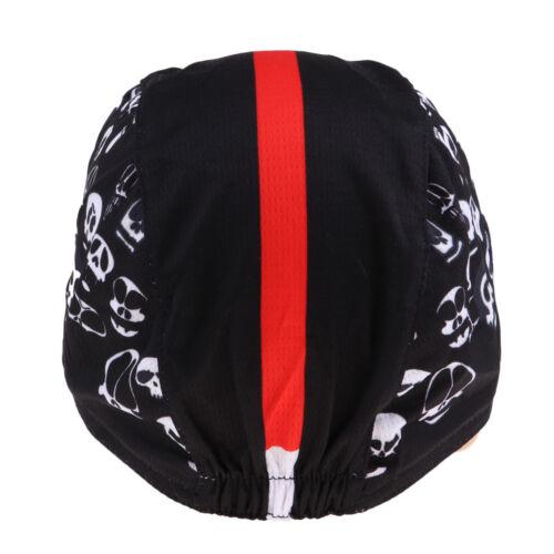 Atmungsaktive Unterziehhaube Sport Fahrrad Helmmütze Helm-Unterziehmütze