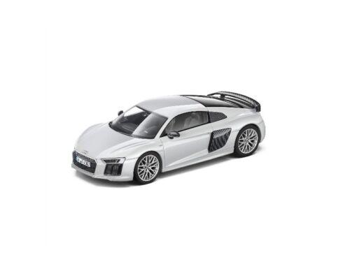 Original Audi R8 Coupe 2015 Modellauto 1:43 Suzukagrau Suzuka Grau 5011518413