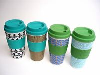 Chef Craft Insulated Design Travel Mug Cup Bpa Free 16 Fl Oz 4 Design Choice