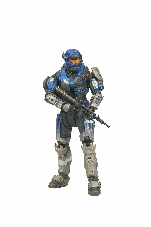 McFarlane Spielzeugs Halo Reach serie 2 - voitureter Wirkung Figure Blau