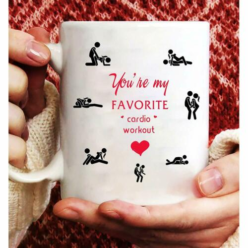 You/'re My Favorite Cardio Workout Coffee Mug Favorite Cardio Mug