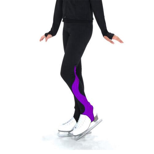 Customized Skating Pants Skating Long Figure Skating Training Striped Trousers