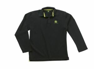 John Deere Trace T-Shirt Black or Yellow 100/% Cotton