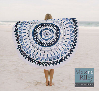 Round Beach Towels  - many Designs, REAL towels quality