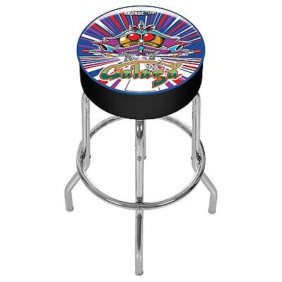 Pleasing Arcade1Up Galaga Adjustable Stool Brand New Ebay Creativecarmelina Interior Chair Design Creativecarmelinacom