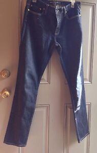 650 Ralph marca donna Thompson 30 Vita Sport da Lauren blu di dritta Gamba Jeans tw47f