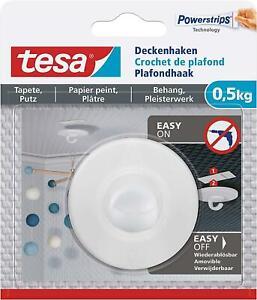 Tesa-Deckenhaken-Tapete-Putz-Selbstklebender-Ideal-Befestigung-Deko-ObjektenHaeLt