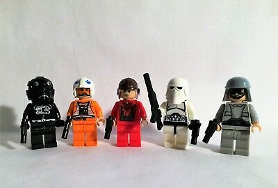 x5 Lot DARK SABER for Star Wars Lego Mandalorian Minifigure