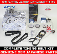 Toyota 4runner 03-04 Complete Timing Belt Water Pump 14 Pcs Kit