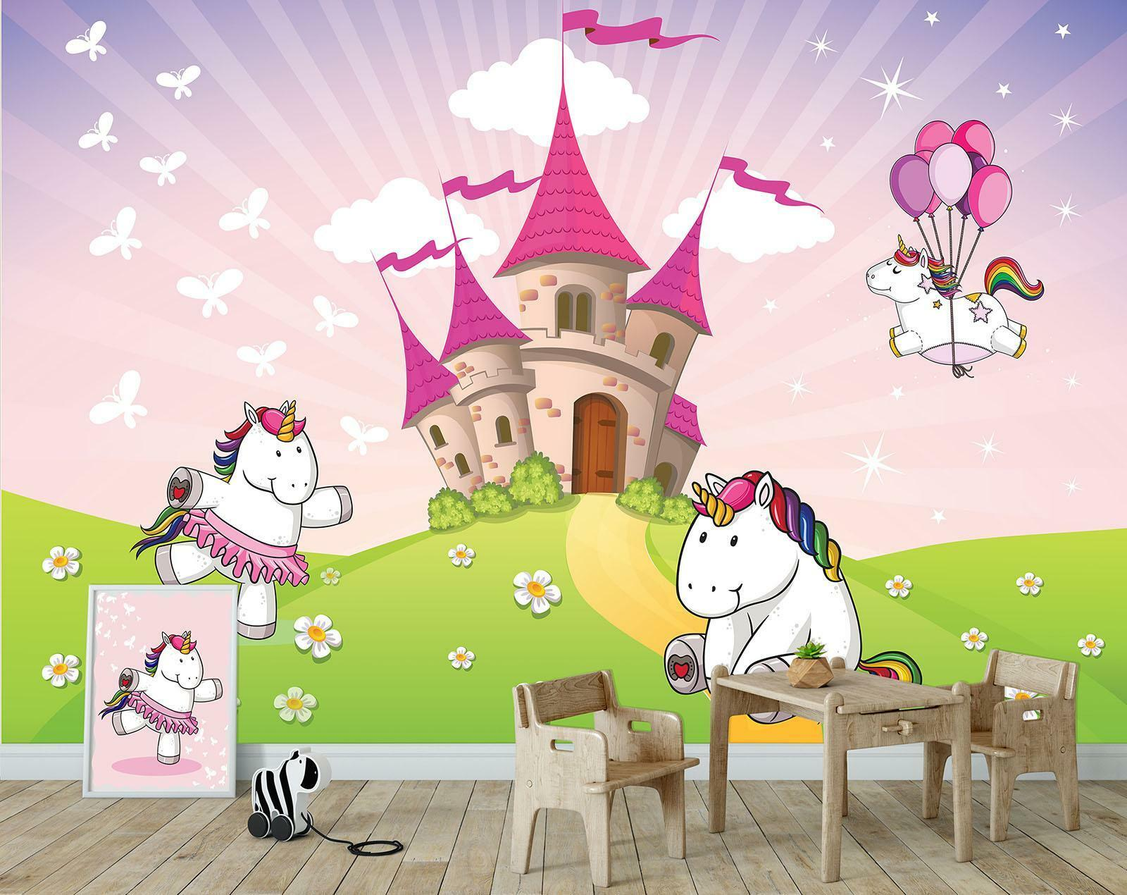 Photo Wallpaper Mural  11607_P Unicorns