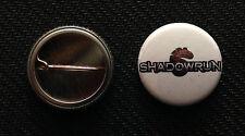 """Shadowrun - 1"""" Pinback Button Pin - Buy 2 Get 1 Free"""