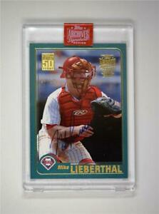2019-Topps-Archives-Signature-Series-Retired-Edition-Auto-592-Mike-Lieberthal