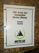 1991 ARCTIC CAT PROWLER PANTER SNOWMOBILE ORIGINAL FACTORY SERVICE MANUAL SHOP