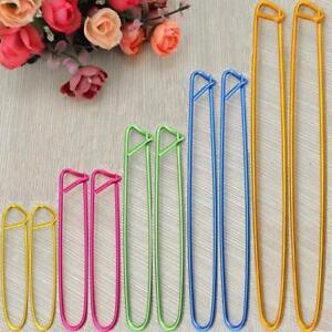 10Pcs-5-Size-Yarn-Aluminum-Stitch-Holders-Crochet-Knitting-Needles-Widget-Hook