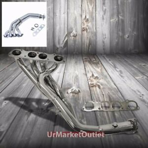 """FOR 00-09 S2K AP1//AP2 2.5/""""STAINLESS 4-1 LONG TUBE EXHAUST HEADER MANIFOLD+GASKET"""