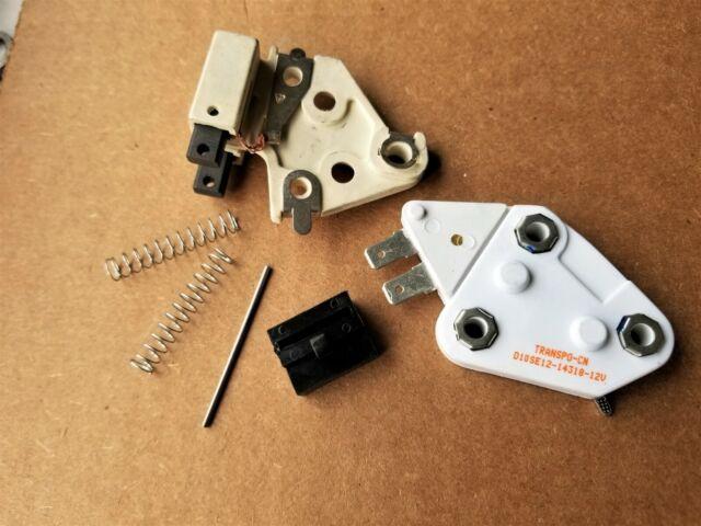 New Premium 1 Wire Alternator Kit Fits Delco 10si 12si