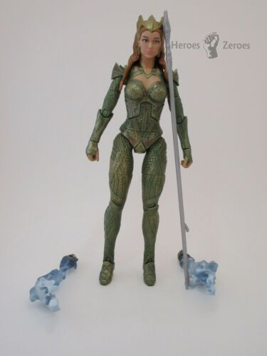 DC Multiverse Justice League Movie MERA Figure with Hands and Spear