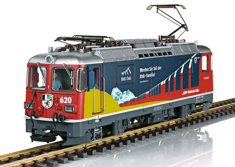 28445 LGB locomotora GE 4 4 II  RhB-Club  nuevos artículos eléctricos