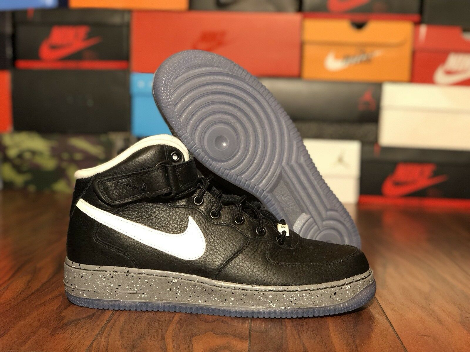 Comfortable and good-looking Nike Air Force 1 AF1 iD Comfortable