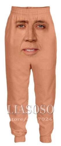 Nicolas cage full length 3D Print Casual Pants Men Sweatpants Sport Jogging Pant