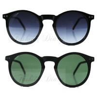 TRENDY ROUND VINTAGE RETRO STYLE KEY HOLE BRIDGE HIPPY CIRCLE FASHION SUNGLASSES
