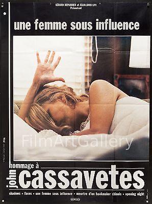 """A WOMAN UNDER THE INFLUENCE 46""""x62"""" John Cassavetes Gena Rowlands filmartgallery"""