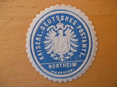 (10537) Siegelmarke - Kaiserl. Deutsches Postamt Northeim (hannover) Jahre Lang StöRungsfreien Service GewäHrleisten