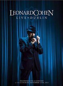 Leonard-Cohen-Live-IN-Dublin-Nuevo-CD-DVD-Juego