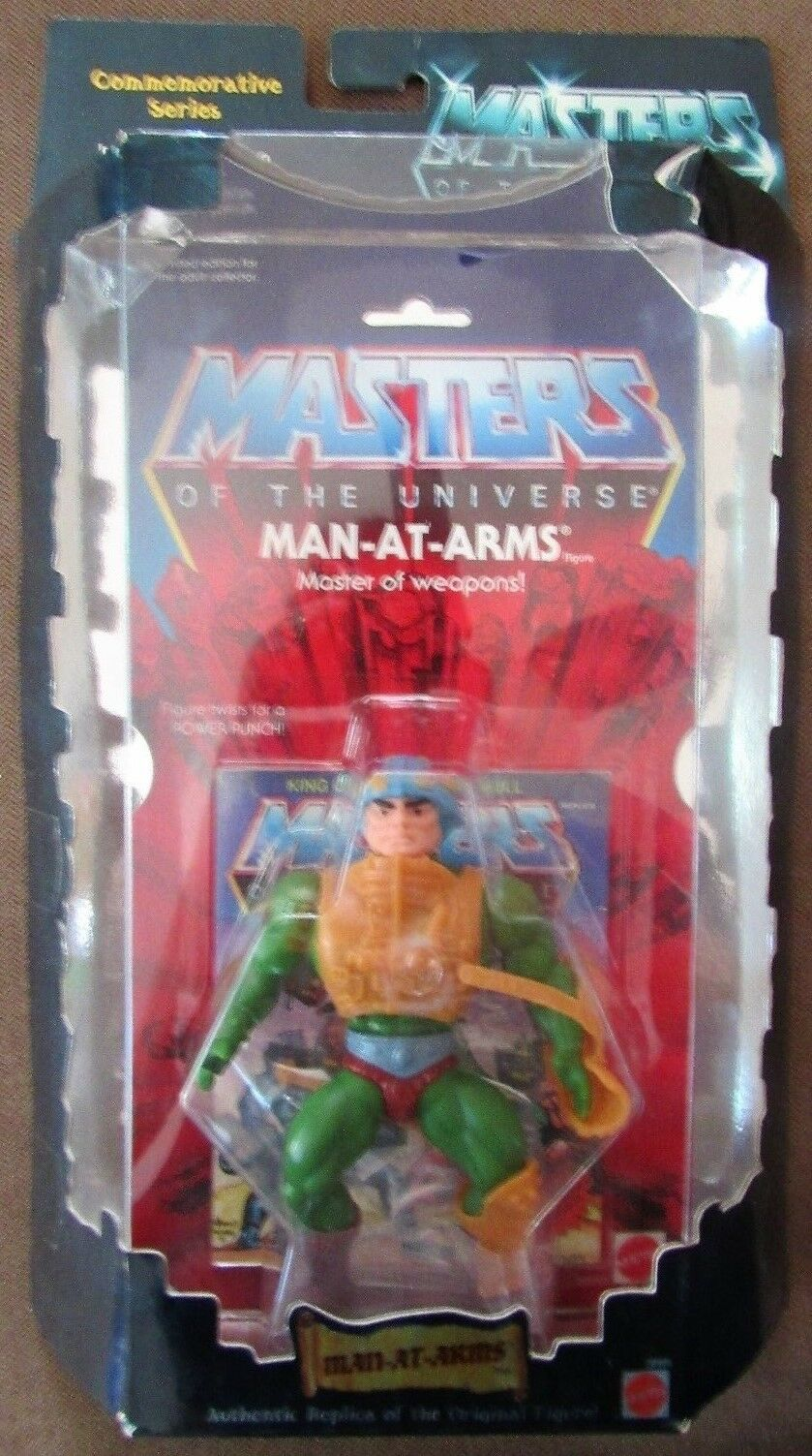 Masters of the Universe Commemorative Series MAN-AT-ARMS Action Figure NOC
