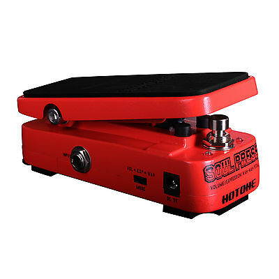 HOTONE - SOUL PRESS - 3 in 1 WAH / EXPRESSION / VOLUME MICRO GUITAR PEDAL