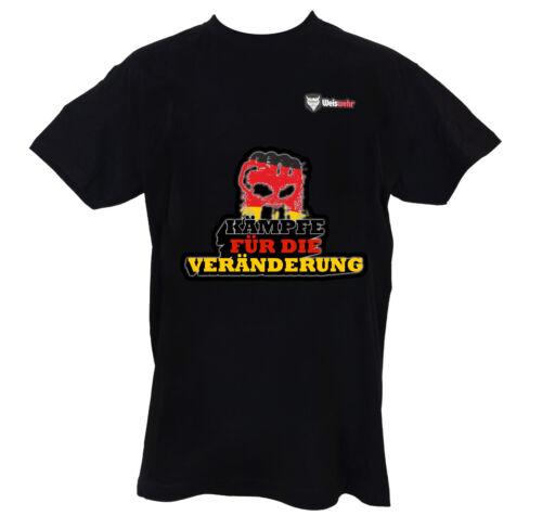 Weiswehr T-shirt coton-Allemagne-Combats pour le changement