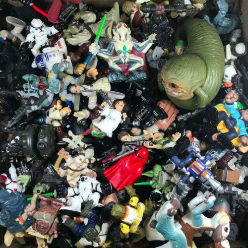 Star Wars Galactic Heroes RANDOM 5 FIGURE GRAB BAG mix of heroes /& villains