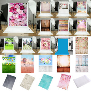 Vintage-5x7FT-Vinyl-Studio-Photography-Backdrop-Brick-Wall-Floor-Background-Prop