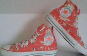 Details zu Converse Sneaker Chucks EU 37,5 UK 5 36 38 Damen Orchid Blumen Weiß Limited Edit