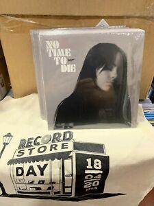 """Billie Eilish 7 """" No Time To Die / - Instrumental RSD 2020 Versiegelt"""