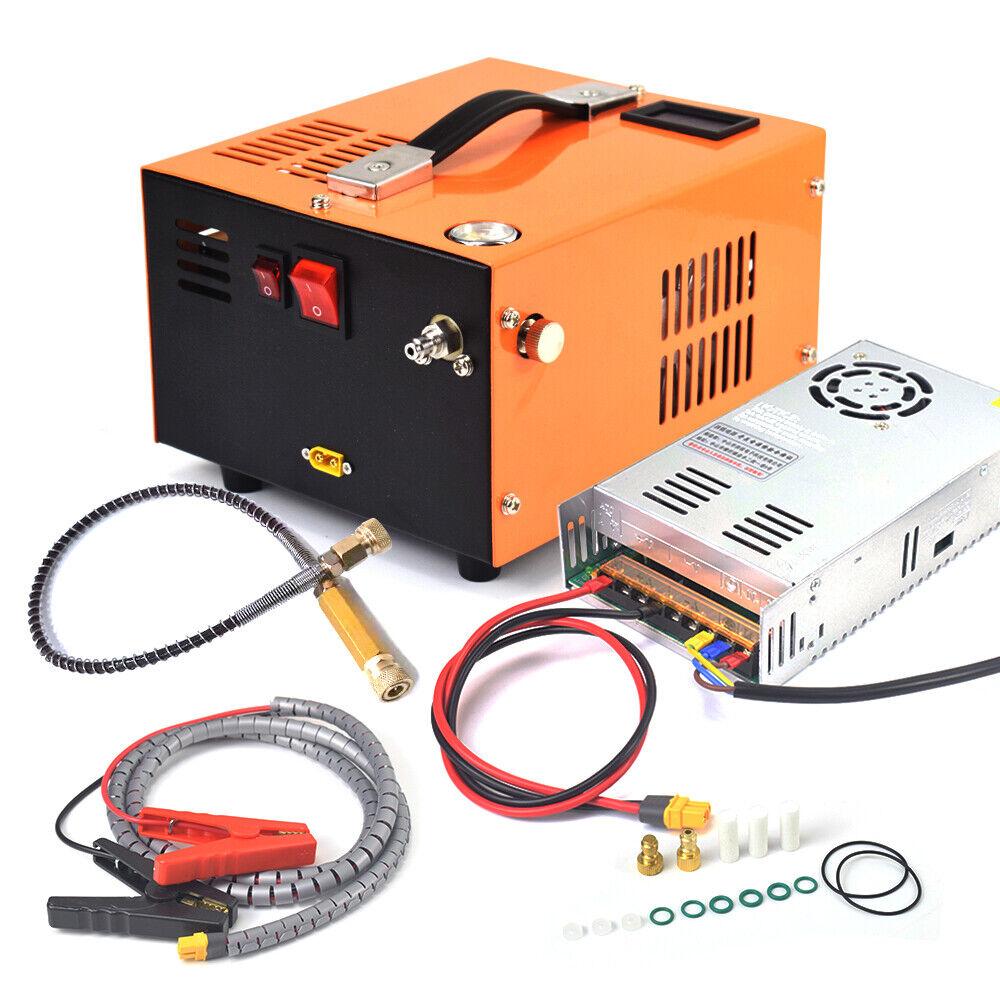 Portable 12V PCP Air Compressor Air Gun High Pressure Pump Transformer 110/220V. Buy it now for 259.99