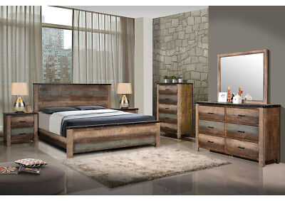 Pleasing Coaster Furniture Sembene Queen 6 Piece Bedroom Set Rustic Antique Ebay Download Free Architecture Designs Photstoregrimeyleaguecom
