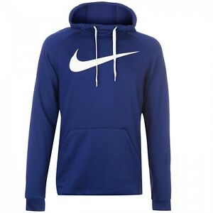 buy best so cheap official photos Details about NIKE DRY SWOOSH HOODIE PO 885818-405 BLUE NWT FRENCH TERRY  Mens XXL